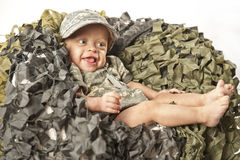Military Baby Royalty Free Stock Photos