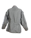 Military back jacket Stock Photo