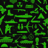 Military background. Seamless pattern. Military elements, armore Royalty Free Stock Photo