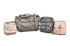 Military Backpack on  Stock Image