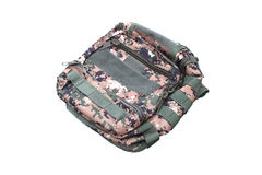 Military Backpack on Isolated Stock Images