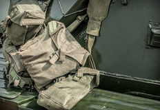 Military Bags Royalty Free Stock Photos