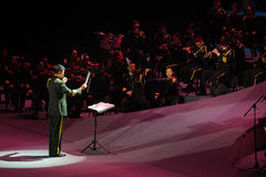 The military band command-theFamous and classicconcert Stock Photography