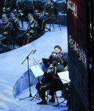 Military band-theFamous and classicconcert Stock Image