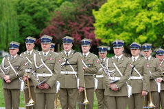Poland - Military band Stock Photo