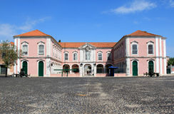 Military barracks near Queluz National Palace Royalty Free Stock Photography