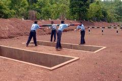 Military Basic Training Stock Images