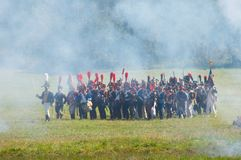 Military battle Stock Images