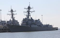 Military Battleship Stock Photos