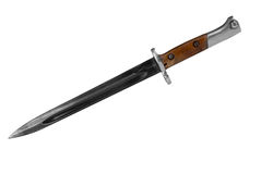 Military bayonet Royalty Free Stock Photography