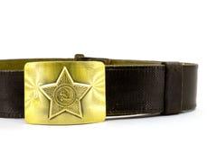 Military belt Stock Image