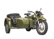 Military bike Stock Images