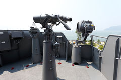 Military binocular Stock Images