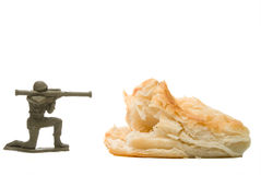 Military Biscuit Royalty Free Stock Photography