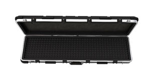 Military black case for rifle on  white background. 3d illustration Stock Photography