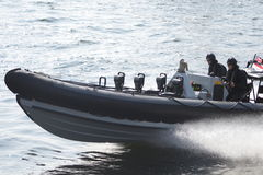Military boat Royalty Free Stock Photos