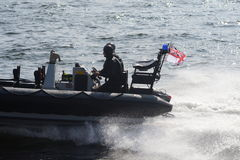 Military boat Stock Photo
