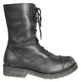 Military boot Stock Image