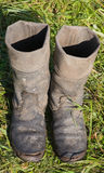 Military boots Royalty Free Stock Photography