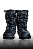 Military boots Stock Photography