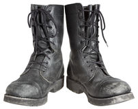 Military boots Royalty Free Stock Photos
