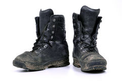 Military boots Stock Photos