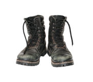 Military boots. Stock Image