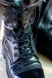 Military boots Royalty Free Stock Photo