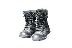 Military boots Stock Images