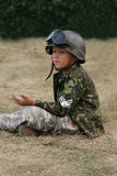 Military boy Stock Image