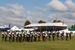Military brass band Royalty Free Stock Photography