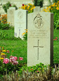 Military cemetery. Royalty Free Stock Photos