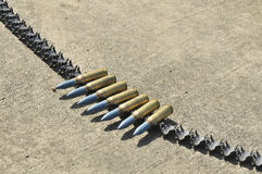Military bullets Stock Photo