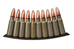 Military bullets Stock Images