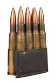 Military bullets Stock Image