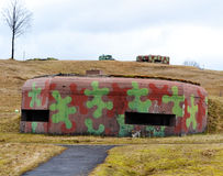 Military bunker Royalty Free Stock Photography