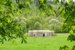 Military bunker Stock Image