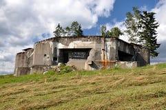 Military bunker stock photo