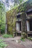 Mamerki bunkers in Poland. Military bunkers complex, headquarters of Oberkommando des Heeres High Command of Nazi Army during WW2 in Mamerki, Poland Stock Images