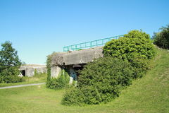 Military bunkers in Normandie Stock Photos