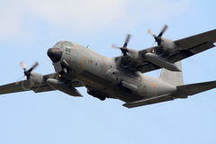 Military C130 Hercules plane Royalty Free Stock Photos