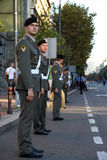 Military Cadets Stock Photo