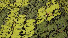 Military Camoflage Netting Royalty Free Stock Image