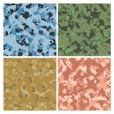Military Camouflage Royalty Free Stock Photography