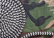 Military camouflage background Stock Photo