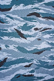 Military camouflage cloth Stock Image