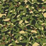 Military camouflage green pattern Stock Image