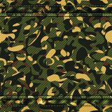 Military camouflage green pattern Stock Photos
