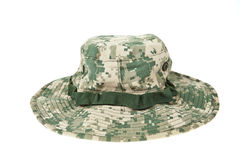 Military camouflage hat ACU Royalty Free Stock Photos