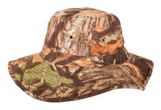 Military camouflage hat desert Stock Photos